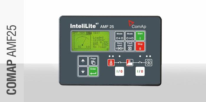 comap amf25 generator control panel rh bundupower co za intelilite nt amf 25 manual intelilite amf 25 manual francais