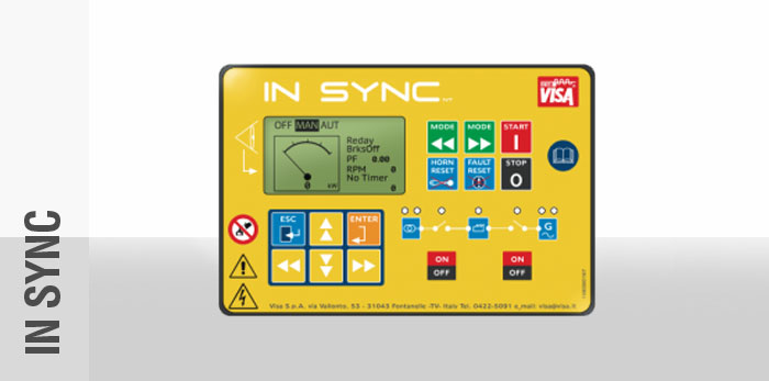 In Sync Control Panel
