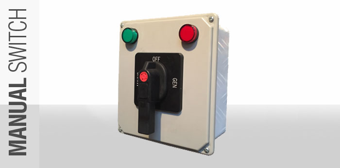 Manual Transfer Switch for Generators