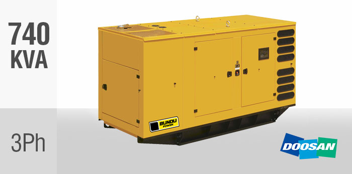 Doosan Diesel Generators South Africa