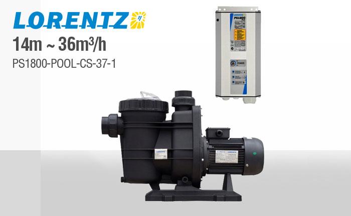 Lorentz 14 M Solar Borehole Pump