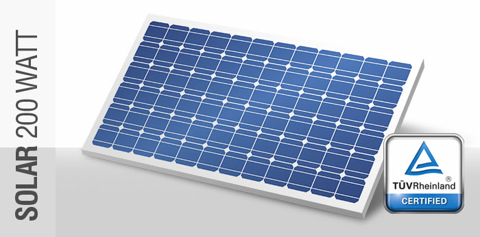 Bundu Power 200 Watt Solar Panel