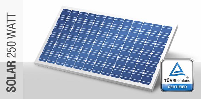Bundu Power 250 Watt Solar Panel