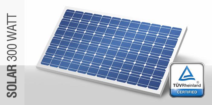 300 Watt, 36V Solar Panel